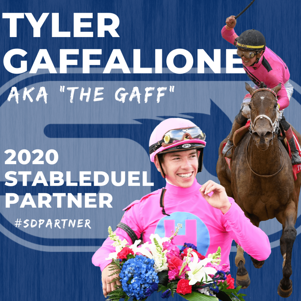 Tyler Gaffalione joins StableDuel