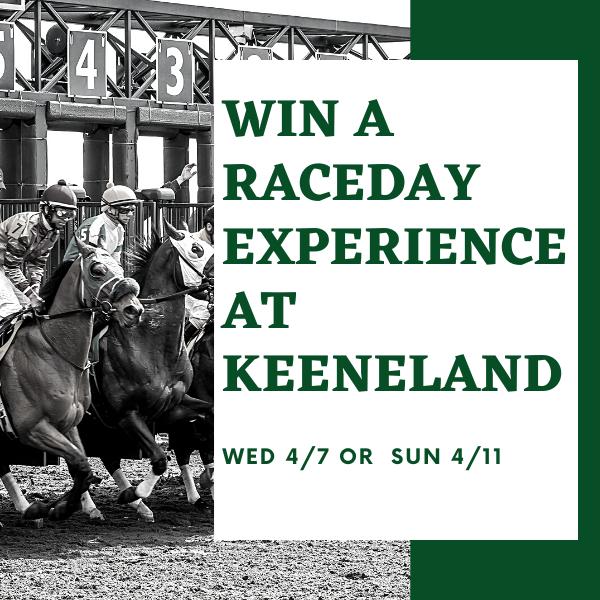 Win Keeneland Tickets