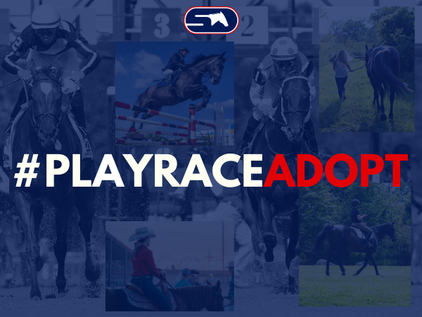 June Hashtag #PlayRaceAdopt for the TRF