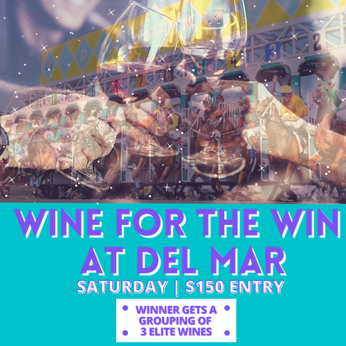 Wine for the Win at Del Mar